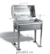 """Мангал-""""ларец"""" 60*35*20 см из стали AISI 430 (зеркальная) 2 мм"""